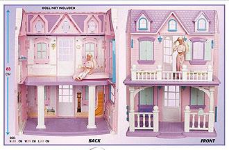 Кукольный домик для барби dream housa winner